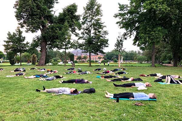 Outdoor Yoga Orangerie